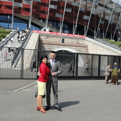 Kongres Lewicy na Stadionie Narodowym
