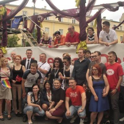 Parada Równości 2013 w Warszawie
